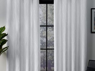 Exclusive Home Curtains Forest Hill Woven Blackout Grommet Top Curtain Panels   Set of 2
