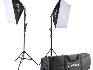 Kshioe Photography Studio 65W I35W Softbox lighting