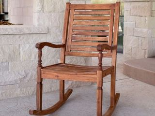 Surfside Acacia Outdoor Rocking Chair