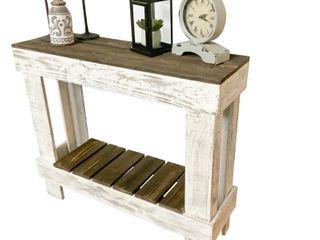 Wooden Handmade Del Hutson Designs Barn Wood Sofa Table