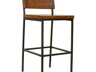 Progressive Sawyer Wooden  amp  Metal Dining Chair