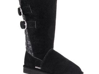 Muk luks Women s Jean Boots Women s Shoes   Size 10