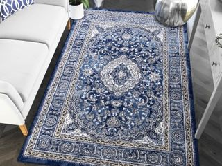 Super Area Rugs Artifact Traditional Ornate Medallion Rug