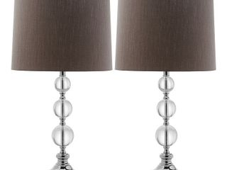 Safavieh Keeva lIT4113A Crystal Table lamp   Set of 2
