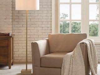 Bringham Gold Floor lamp 18x60in