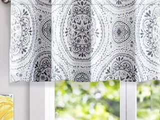 lucia Medallion Thermal Valance