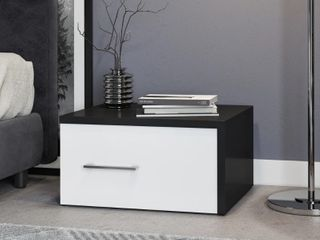 Porch   Den luelling Black and White Night stand