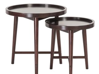 Ebony Nesting Tables