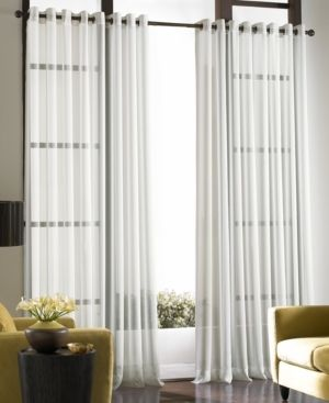 Soho Voile Sheer Grommet Curtain Panel