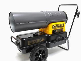 Dewalt Heater 140 000 BTU Forced Air Kerosene Diesel Construction Heater