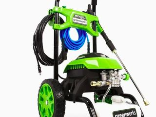 Greenworks 2000 PSI 1 2 GPM Cold Water Electric Pressure Washer Retail 199 00