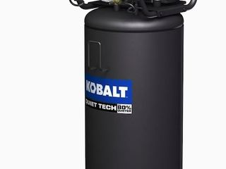 Kobalt Quiet Tech 26 Gallon Single Stage Portable Electric Vertical Air Compressor Retail 309 00