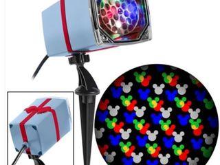 Disney Magic Holiday Mickey Mouse Motion Mosaic led Projection Spotlight