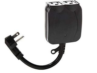 Utilitech 13 amp Black Wireless Remote Control light Switch by Utilitech