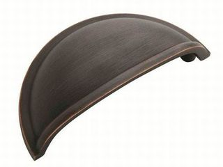 Cup Pulls 3 in  76 mm  Center to Center Oil Rubbed Bronze Cabinet Cup Pull