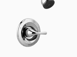 Delta Foundations Brushed Nickel 1 handle Bathtub   Shower Faucet Parts Only
