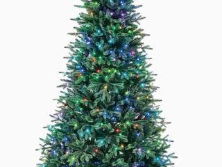 Holiday living 7 5 Foot Pre lit Monroe Pine Tree