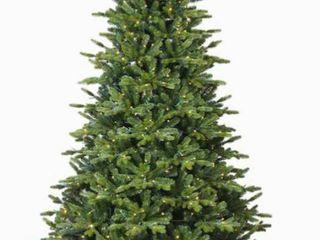 GE 7 Foot Pre lit lED Asheville Fir Christmas Tree