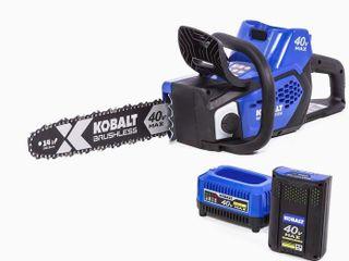 Kobalt 40V Max Brushless Cordless Chainsaw Kit  No Battery Included