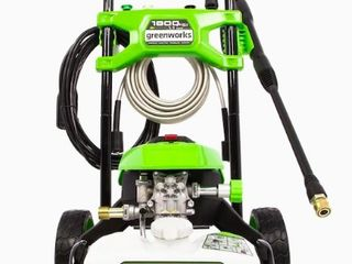 Green works 1800 PSI Electric Pressure Washer