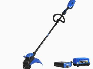 Kobalt 40 Volt Max 15 in Straight Cordless String Trimmer  Battery charger Included