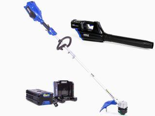 Kobalt 2 Piece 80 Volt Cordless Power Equipment Combo Kit Retails   369 00  No Batteries