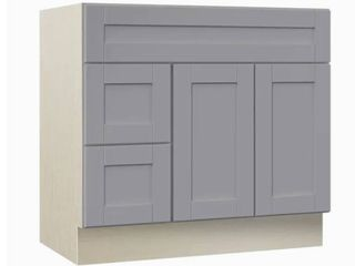 Villa Bath by RSI Sanabelle Gray Bathroom Vanity Cabinet Retails 390 00