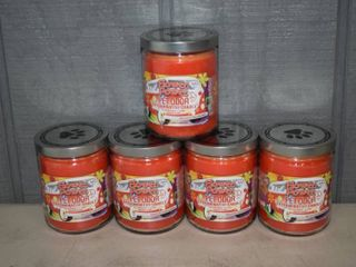 5 Flower Power Pet Odor Candles