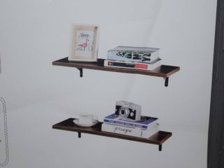 Superjare 2 Pack Wall Shelf