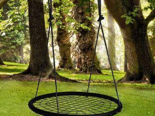 Image Spider Web Tree Swing 40  Diameter