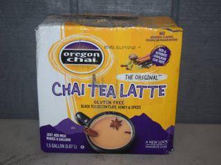 Chai Tea latte   Makes 3 Gallons   Expires 7 4 2021