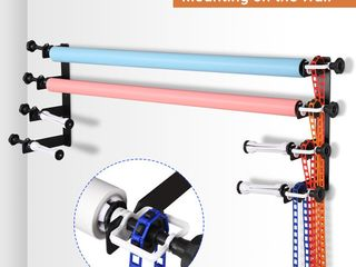 Photography 4 Roller Wall Mount Backdrop Support System