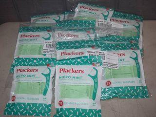 1350 Plackers Micro Mint Dental Flossers