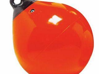 Taylor Made Tuff End 18  Inflatable Vinyl Boat Buoy   Orange