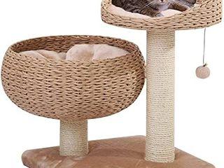 Petpals Cozy Cat Tree 18  x 18  x 23