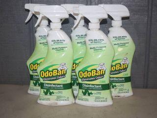 5 Bottles Odoban Disinfectant