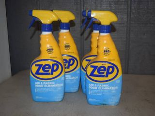 4 bottles Zep Air and Fabric Odor Eliminator