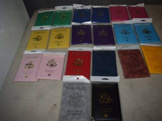 20 United States Passport Folders