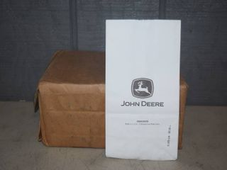 100 John Deere White Paper Bags   Would make great treat bags   10  x 5  x 3