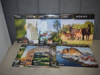 11 National Geographic 2021 Calendars