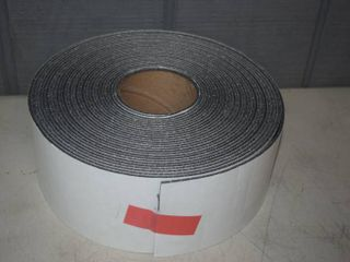 8 Rolls Adhesive Backed Foam   4  X 50  and are Perferated Strips app 1 4  wide