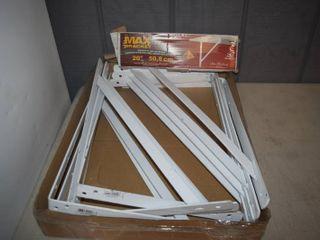 10 Max Brackets 20  Shelf Brackets