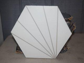 Box of 14 Hexagon Tiles