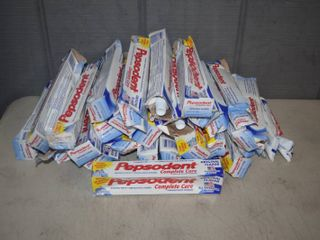 25 Tubes Pepsodent Toothpaste