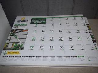 48 Desk Blot Calendars 2021