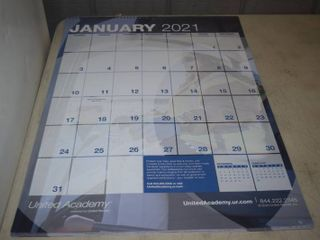 24 Giant Calendars 2021