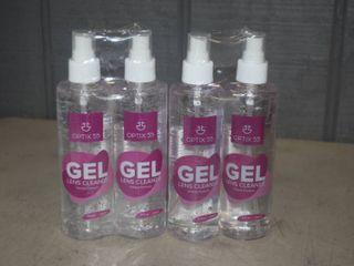 4 Bottles Optix 55 Gel lens Cleaner