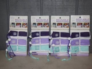 12 Reusable Produce Bags