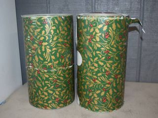 2 Rolls Wrapping Paper