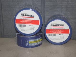 3 Rolls Blue Masking Tape